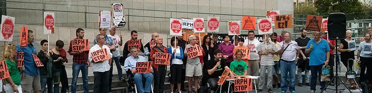 Manifestación IRPH